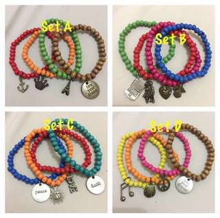 Stretchable Beaded Arm Candies
