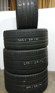 Michelin super sport tyre for sell