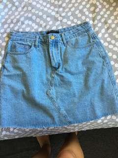 Reiley brand Denim Skirt