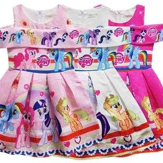 My Little Pony Off Shoulder Dress
