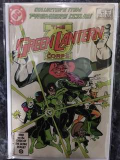 GREEN LANTERNS CORPS # 201