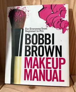 Bobbi Brown makeup manual (hardcover)