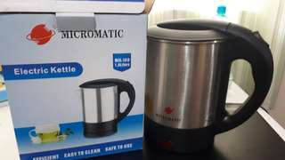 Electric Kettle- Micromatic Brand