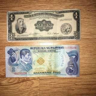Old money bills