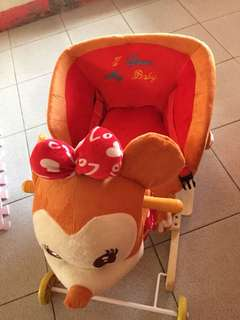 Reindeer ride toy for baby