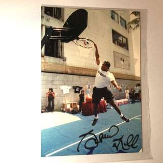 NBA STAR PHOTO 親筆簽名相 2