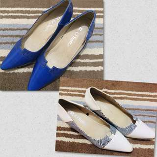 GET TWO! Pointed shoes (Size 9)