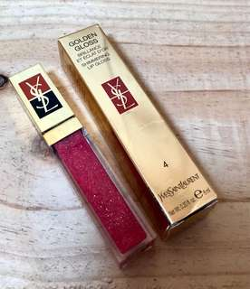 YSL golden gloss #4 golden fuchsia