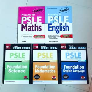 PSLE Foundation Assessment Books