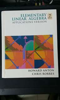 Elementary Linear Algebra Applications Version