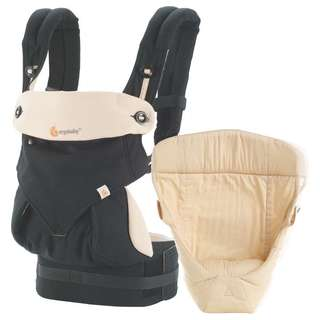 Ergobaby 360 Baby Carrier with infant insert