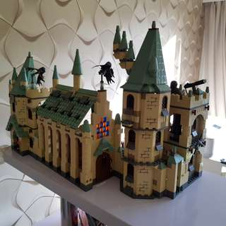 Harry Potter all 3 (built) (not Lego)