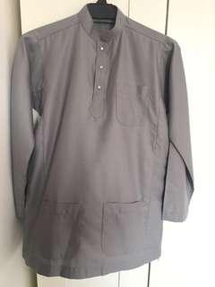 Sepasang Baju Melayu for Kids