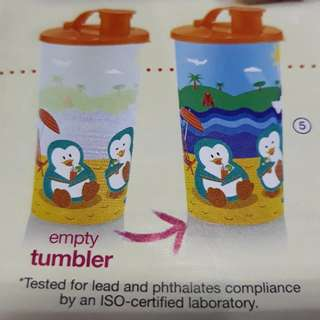 Avon Philly the Penguin color changing tumbler