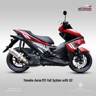 Devil Exhaust Systems Singapore Yamaha Aerox 155 ! Ready Stock ! Promo ! Do Not PM ! Kindly Call Us ! Kindly Follow Us !