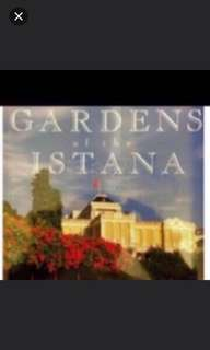 Gardens of the Istana coffee table book