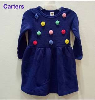 Carter's pompom Dress ORI