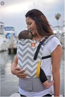 Tula Standard Baby Carrier - grey zig zag