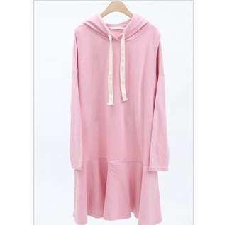 衛衣傘形哺乳衫(粉紅色)