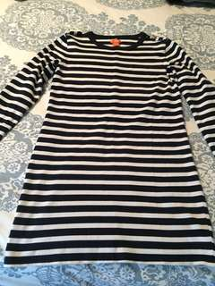 Joe Fresh Striped Sweater Dress-REDUCED