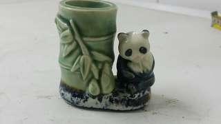 80年代典雅可愛熊貓瓷器擺設 🐼🐼