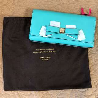Kate Spade clutch (genuine leather)