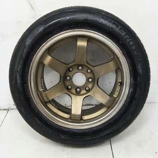 15 '' Sports Rim With Tyres 4x100 4x114.3 (SR1085)