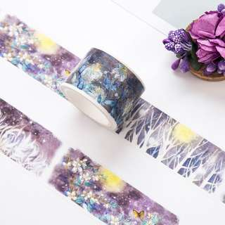 (PO) Midnight Forest Washi Tape