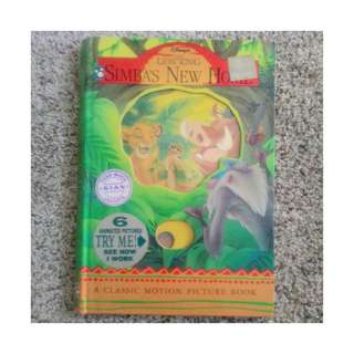 A Classic Motion Picture Book - Lion King Simba's New Home