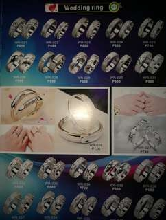 925 Silver Couple/Wedding Ring