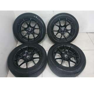 17 '' Sports Rim With Tyres 5x114.3 (SR1087)