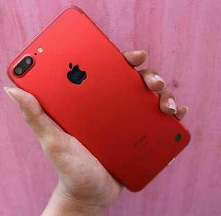 Dijual cepat iphone 7plus red hdc