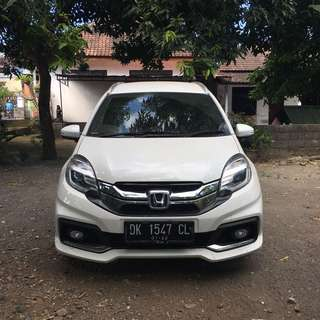 Honda Mobilio Rs 2017 Full Asuransi All Risk
