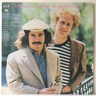 Simon & Garfunkel ‎– Simon And Garfunkel's Greatest Hits (1972 USA Original - Vinyl is Very Good Plus)