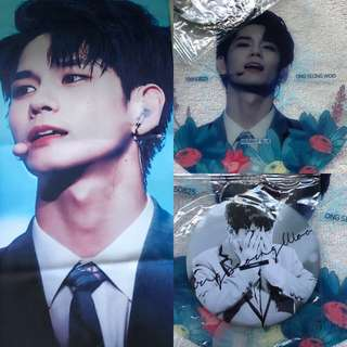 [WTS] WANNA ONE ONG SEONGWOO SLOGAN SET BY Midnight OSO (@midnight_OSO)