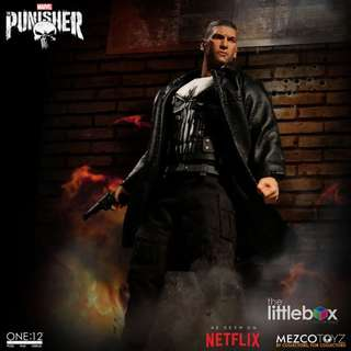 Mezco 1:12 Scale 1/12 One:12 Collective - Punisher Netflix
