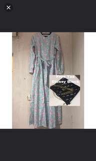 Amima dress katun jepang