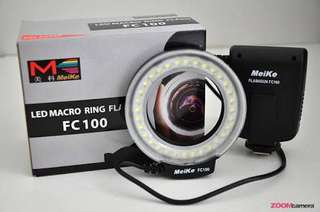 Meike Ring Flash for Camera with adapters