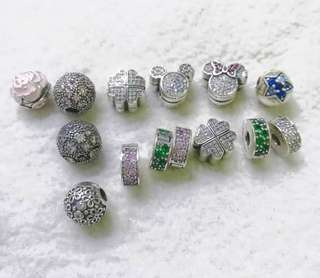 PANDORA CLIPS & STOPPERS