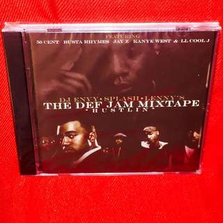 DJ Envy, Splash & Lenny S	-	Hustlin' (The Def Jam Mixtape) CD