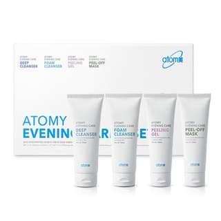 Atomy Evening Care Set  艾多美洁面4件套