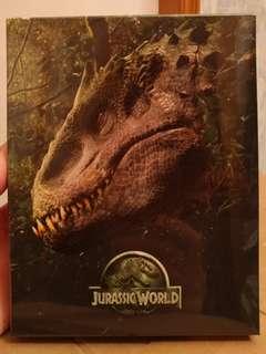 Jurassic World 侏羅紀世界 3D+2D BluRay 鐵盒版 SteelBook