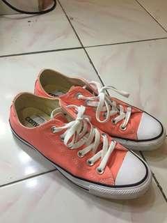 Converse classic original warna peachy pink