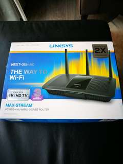 Linksys AC1900+ Gigabit Router