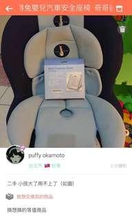 奇哥彼得兔嬰兒汽車座椅