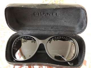 Chanel Sunglasses with Black Crystal