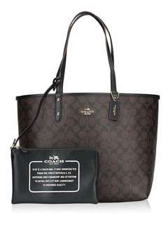 COACH REVERSIBLE TOTES