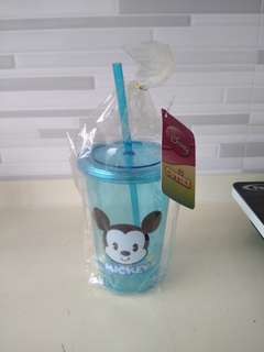 Mickey Cup With Straw