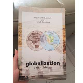 HH1003: Globalisation A Short Story by Jürgen Osterhammel and Niels P. Petersson.