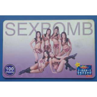 PLDT Touch Card featuring SEX BOMB dancers